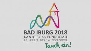 Logo der Landesgartenschau Bad Iburg 2018